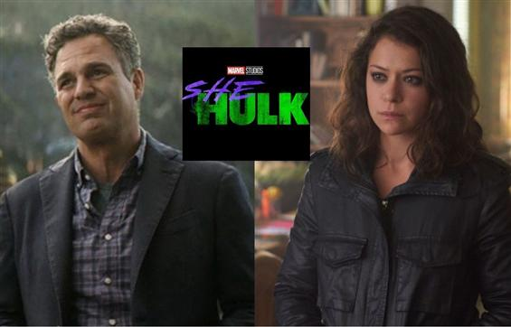 Here's how 'The Hulk' welcomed Tatiana Maslany aka...