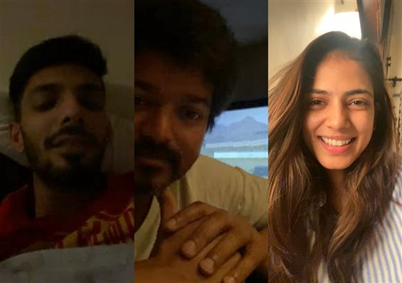 Here's how Vijay is 'Social Distancing' From Team ...