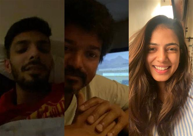 Here's how Vijay is 'Social Distancing' From Team Master!