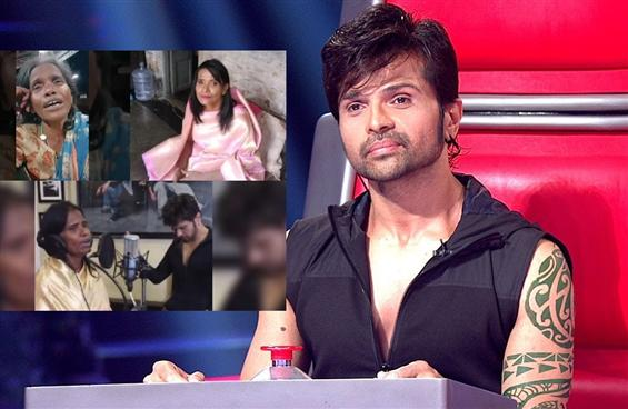 Himesh Reshammiya records song with viral train st...