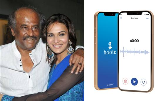 Hoote: Rajinikanth to launch daughter's voice base...