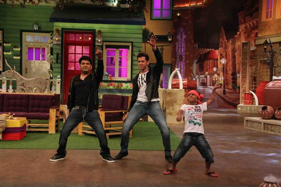 Hrithik Roshan, Pooja Hedge promotes Mohenjo Daro on The Kapil Sharma Show