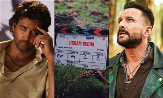 Hrithik Roshan, Saif Ali Khan's Vikram Vedha begin...
