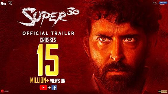 Hrithik Roshan's Super 30 Trailer trends at #1, Vikas Bahl gets credit as director