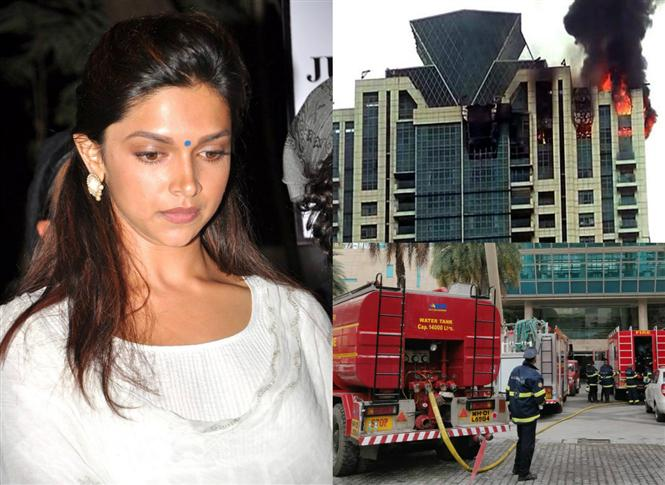 I am safe, Pray for our Firefighters: Deepika Padukone after the high-rise building she lives in catches fire in Mumbai's Worli!