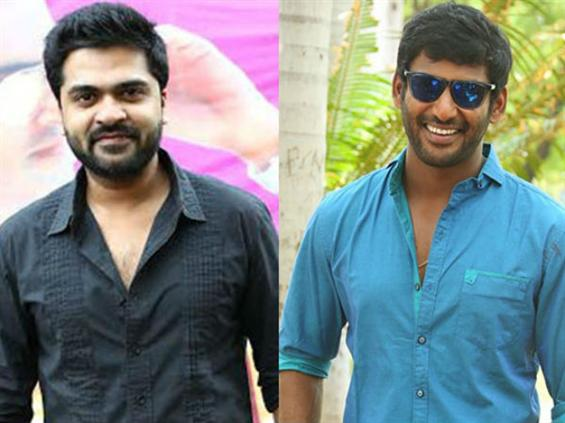 I really thank Simbu, says TFPC President Vishal!