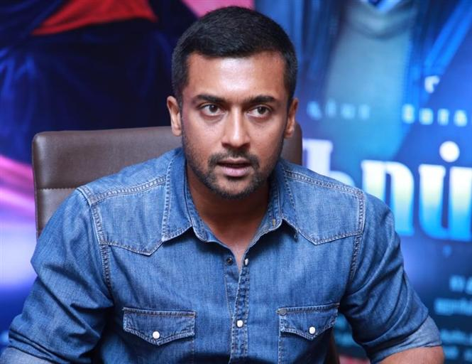 """I want to be a part of films on unsung heroes and Kaappaan is one"" - Suriya"