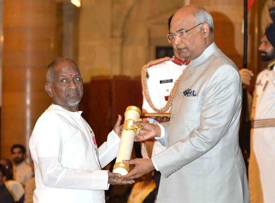 Ilayaraja honoured with Padma Vibhusan
