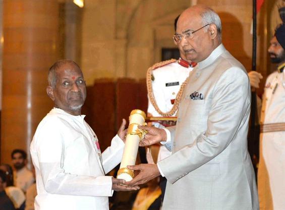 News Image - Ilayaraja honoured with Padma Vibhusan image