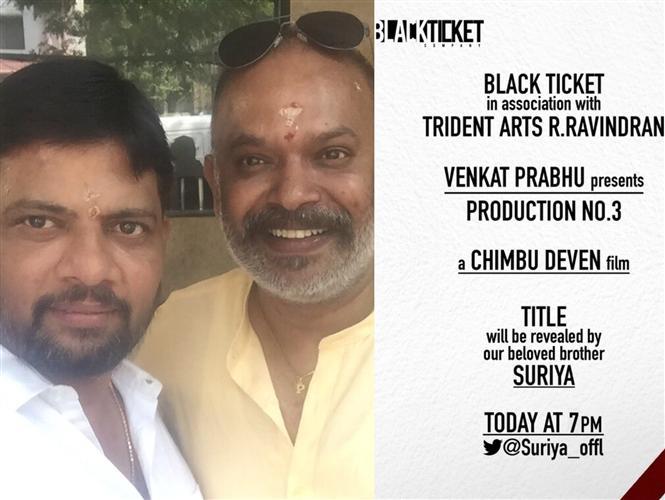 Imsai Arasan director Chimbu Deven's next is with Venkat Prabhu!