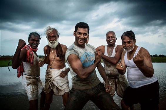 Irumbu Thirai Movie Stills