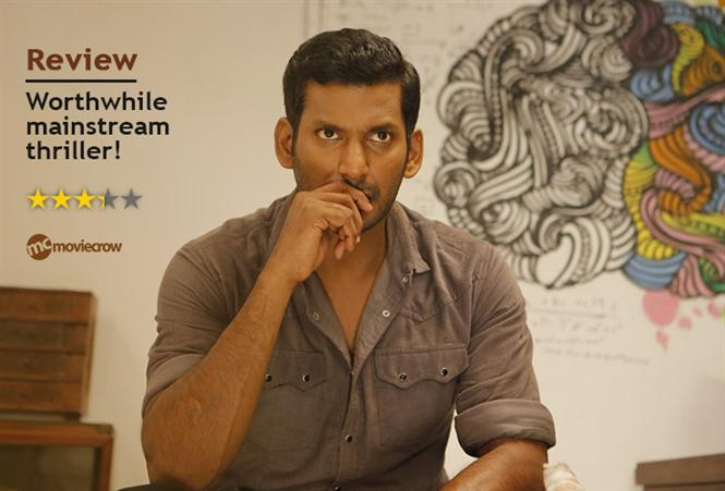 Irumbu Thirai Review - Worthwhile mainstream thriller!