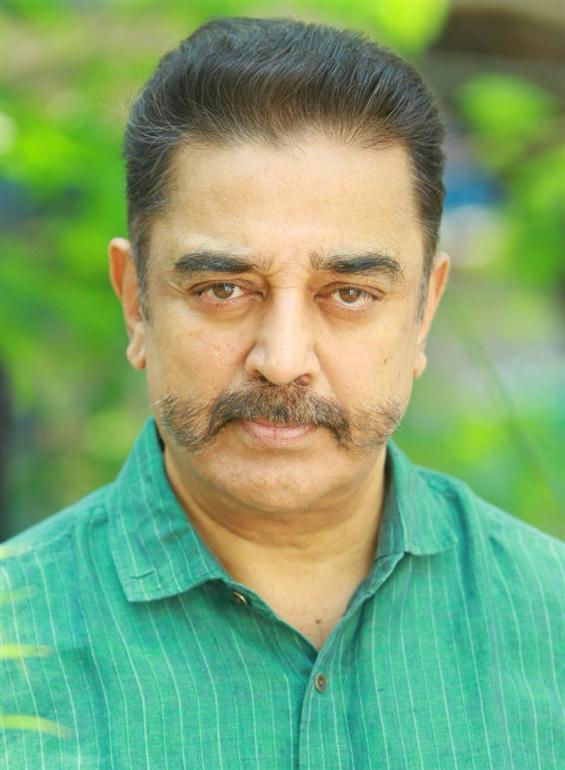 Is this Kamal Hassan's new look for Indian2?