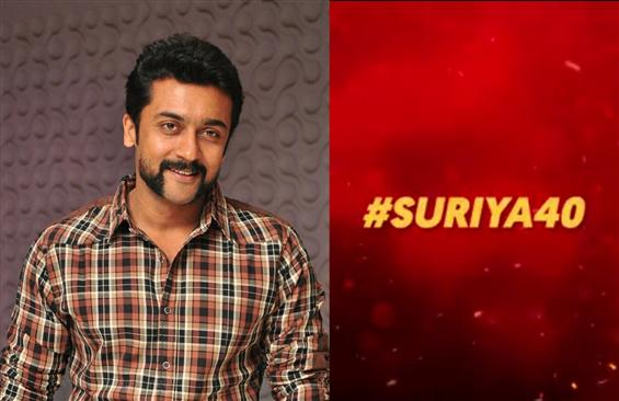 Is this the release date of Suriya 40 First Look?