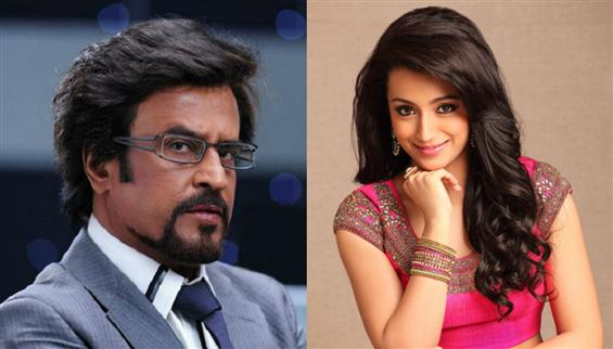 Is Trisha part of Rajinikanth - Karthik Subbaraj f...