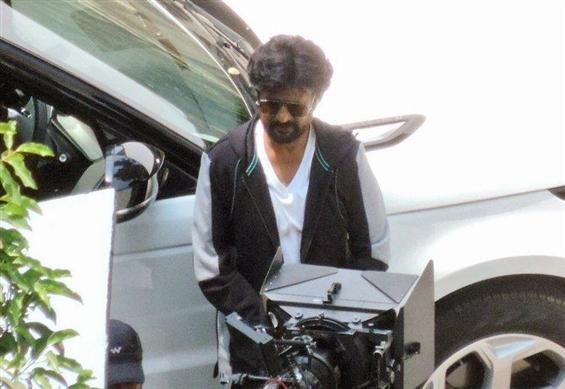 It's a schedule wrap for Rajinikanth's Darbar!