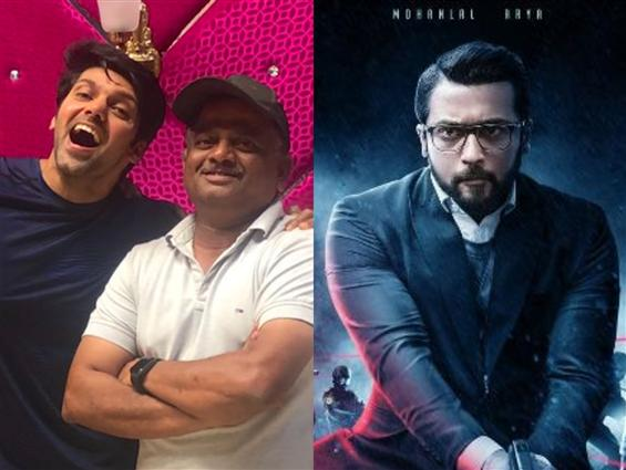 Its a wrap for Arya on Kaappaan!