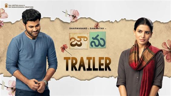Jaanu Trailer feat. Sharwanand, Samantha