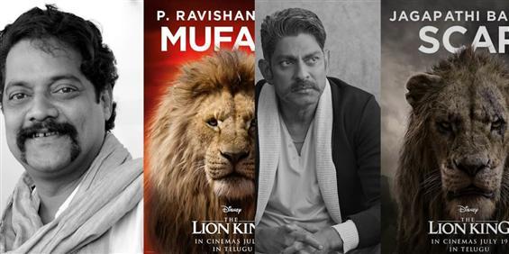 Jagapathi Babu and Ravi Shankar lend their voice f...