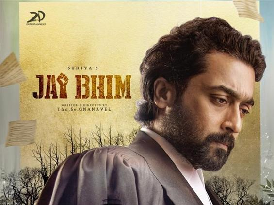 Jai Bhim is the title of Suriya 39! First Look Out...
