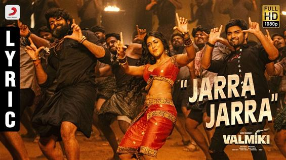 Jarra Jarra  song from Varun Tej's Valmiki