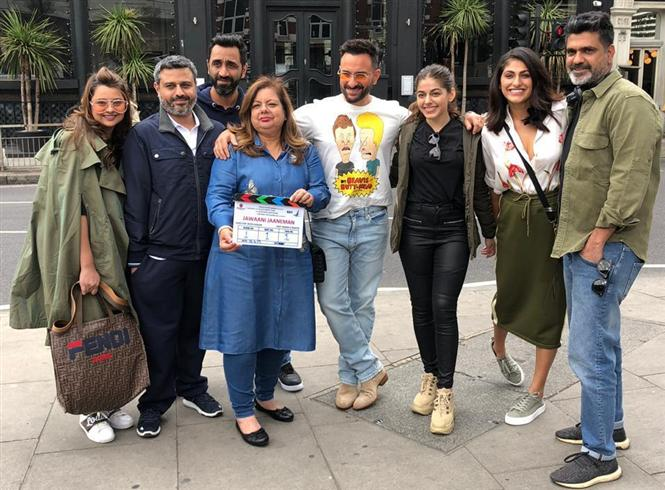 Jawani Janeman: Saif Ali Khan begins shooting for Aalia Furniturewala's debut film