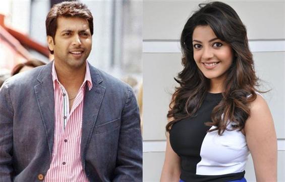 Jayam Ravi, Kajal Aggarwal's comedy drama begins s...