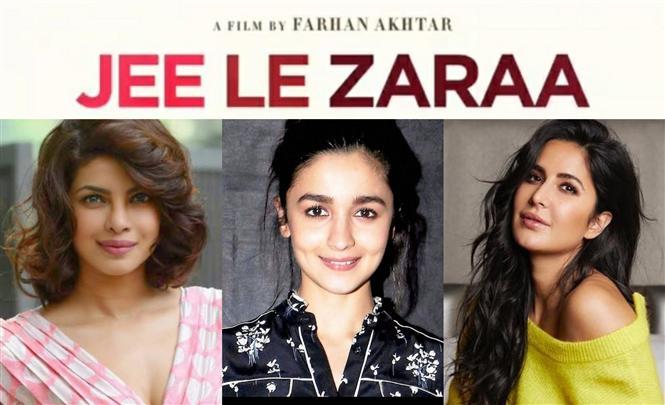 Jee Le Zaraa: Farhan Akthar unites Priyanka, Katrina, Alia for a road-trip film!