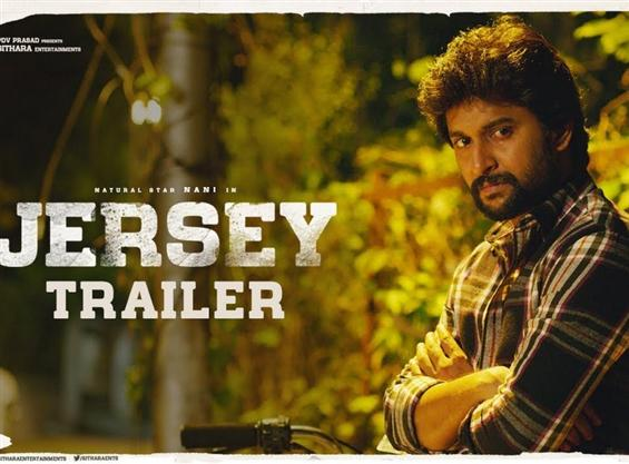 Jersey trailer ft. Nani and Shraddha Srinath