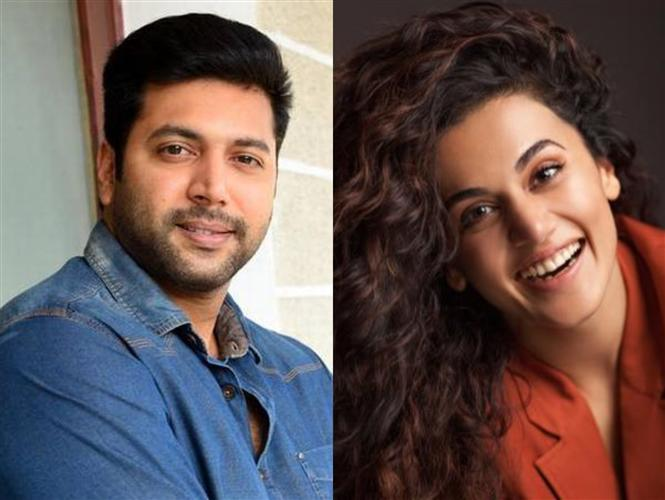 JR 25: It's Taapsee Pannu for Jayam Ravi!