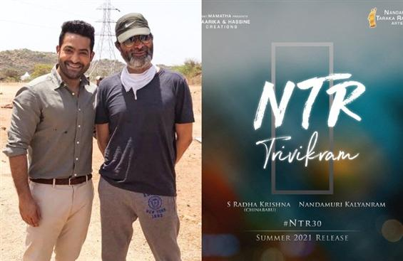 Jr. NTR to team up with director Trivikram again a...