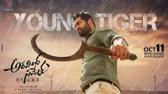 News Image - Jr. NTR's Aravinda Sametha gets thunderous start at Box Office, creates highest non-Baahubali record in Telugu states image