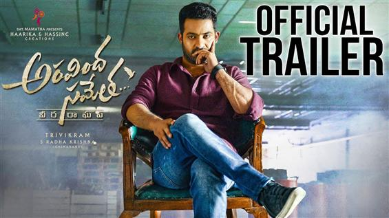Jr. NTR's Aravindha Sametha Trailer is emotional and action-packed