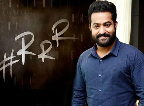 News Image - Jr. NTR's first look from SS Rajamouli's RRR announcement is here  image