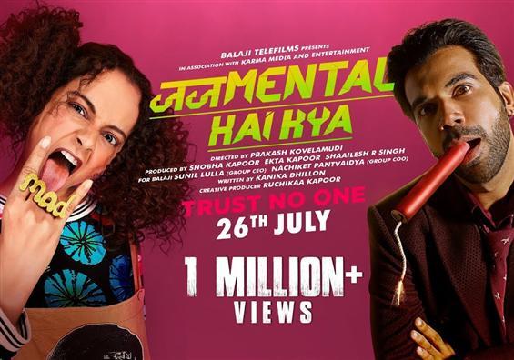 Judgementall Hai Kya Trailer: Kangana and Rajkummar Rao steal the show with power-packed performance