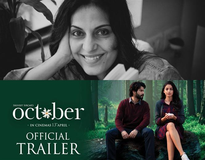 Juhi Chaturvedi credited in Varun Dhawan's October Trailer becomes a topic of discussion for screen-writers!