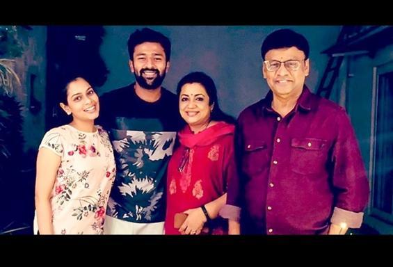 K Bhagyaraj, Poornima test COVID positive! Family ...