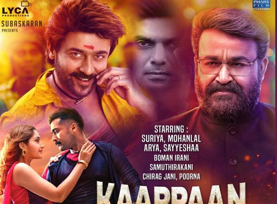 Kaappaan France Theatre List
