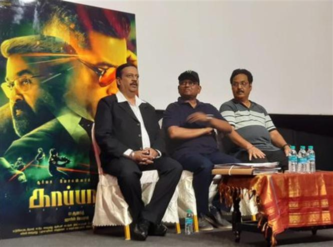 Kaappaan makers to file defamation case against story-theft accuser!