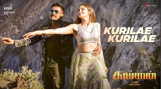 Kaappaan Second Single Kurilae Out Now!