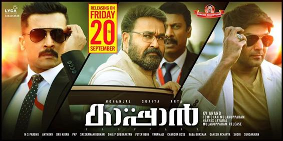 Kaappaan to release in 155+ screens in Kerala