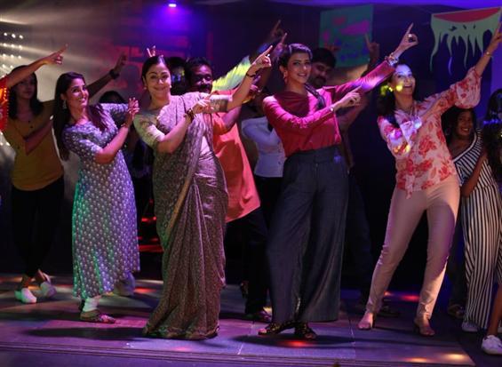 Kaatrin Mozhi: Jyothika grooves to sensational Malayalam song Jimmikki Kammal