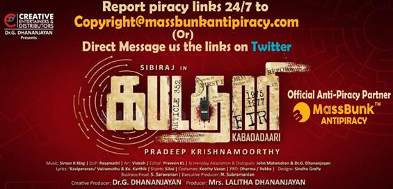 Kabadadaari pirated links can be reported here!