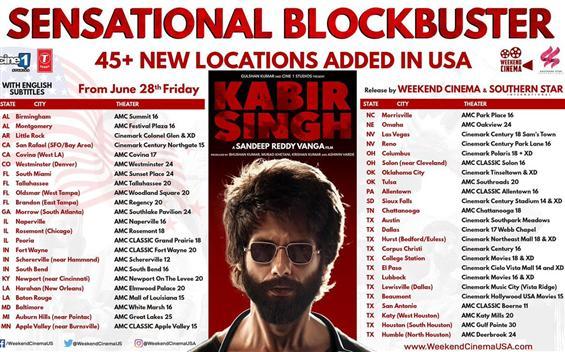Kabir Singh crosses 1 million mark in USA, gets mo...