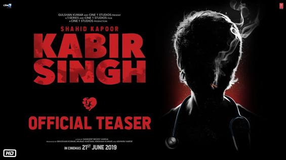 Kabir Singh Teaser feat. Shahid Kapoor, Kiara Advani