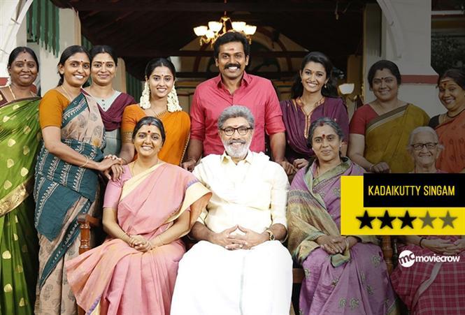 Kadai Kutty Singam Review - A family drama that works!