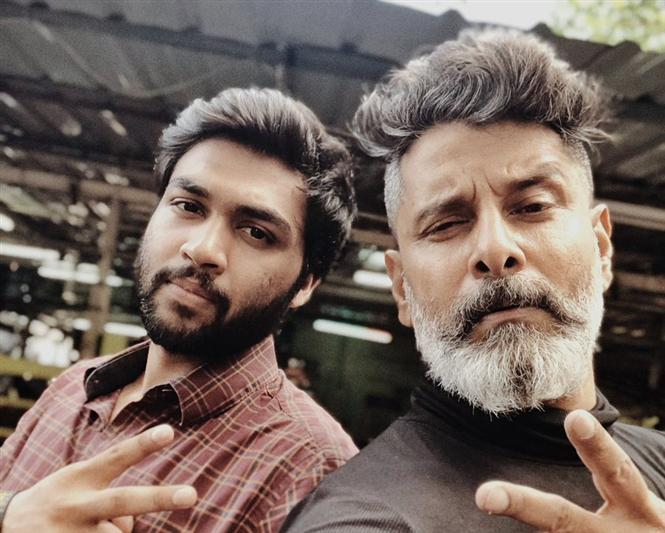 Kadaram Kondan making video released for Vikram's Birthday!