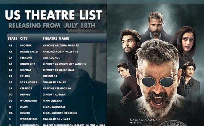 Kadaram Kondan USA Theater list