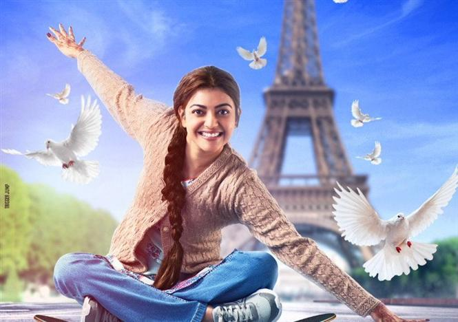 kajal aggarwal 39 s paris paris first look poster tamil movie music reviews and news. Black Bedroom Furniture Sets. Home Design Ideas