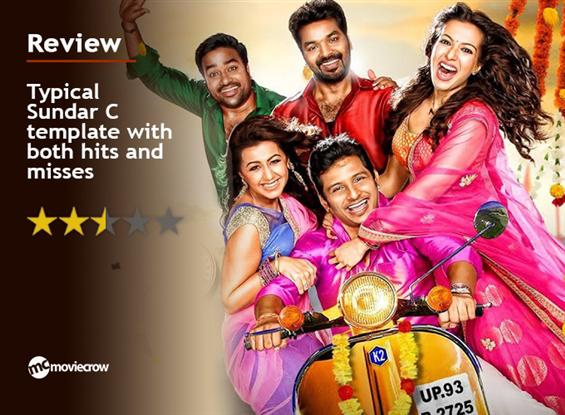 Kalakalappu 2 Review - Typical Sundar C template w...